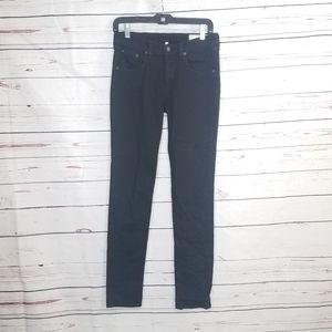 RAG & BONE Skinny Jean's in Coal Black